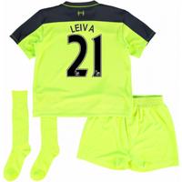 2016-17 Liverpool Third Mini Kit (Leiva 21)