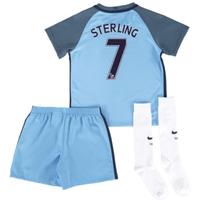 2016-17 Man City Home Mini Kit (Sterling 7)