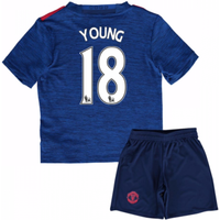 2016-17 Man United Away Baby Kit (Young 18)
