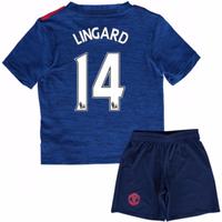 2016-17 Man United Away Mini Kit (Lingard 14)