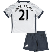 2016-17 Man United Third Mini Kit (Ander Herrera 21)
