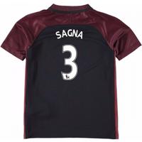 2016-17 Manchester City Away Mini Kit (Sagna 3)