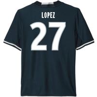 2016-17 Marseille Away Shirt (Lopez 27)