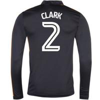 2016-17 Newcastle Away Long Sleeve Shirt (Clark 2)