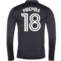 2016-17 Newcastle Away Long Sleeve Shirt (Mbemba 18)