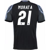 2016-17 Real Madrid 3rd Shirt (Morata 21)