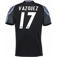 2016-17 Real Madrid 3rd Shirt (Vazquez 17)