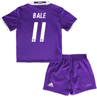 2016-17 Real Madrid Away Baby Kit (Bale 11)