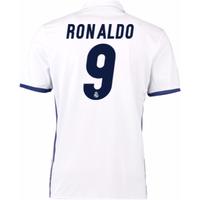 2016-17 Real Madrid Home Shirt (Ronaldo 9)
