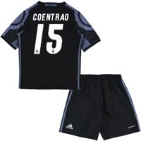 2016-17 Real Madrid Third Mini Kit (Coentrao 15)