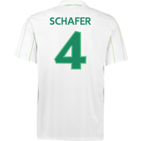 2016-17 Vfl Wolfsburg Away Shirt (Schafer 4) - Kids