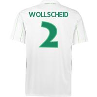 2016-17 Vfl Wolfsburg Away Shirt (Wollscheid 2) - Kids