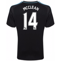 2016-17 West Brom Albion Away Shirt (MCClean 14)