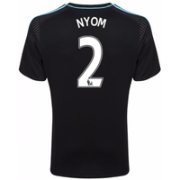 2016-17 West Brom Albion Away Shirt (Nyom 2)