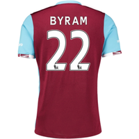 2016-17 West Ham Home Shirt (Byram 22)