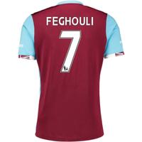 2016-17 West Ham Home Shirt (Feghouli 7) - Kids
