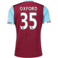 2016-17 West Ham Home Shirt (Oxford 35) - Kids