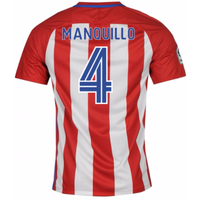 2016-17 Atletico Madrid Home Shirt (Manquillo 4)