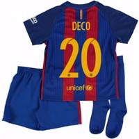 2016-17 Barcelona Home Mini Kit Shirt (Deco 20)