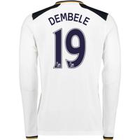 2016-17 Tottenham Home Long Sleeve Shirt (Dembele 19)