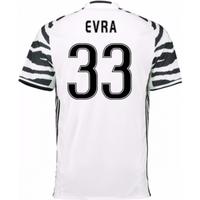 2016-17 Juventus 3rd Shirt (Evra 33)