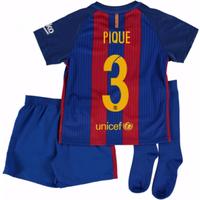 2016-17 Barcelona Home Mini Kit Shirt (Pique 3)