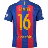 2016-17 Barcelona Home Shirt (Samper 16)