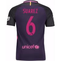 2016-17 Barcelona Away Shirt (Dennis Suarez 6)