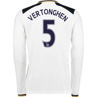 2016-17 Tottenham Home Long Sleeve Shirt (Vertonghen 5)