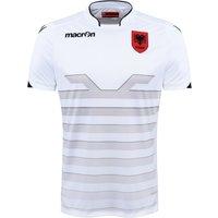 2016-2017 Albania Away Macron Football Shirt (Kids)