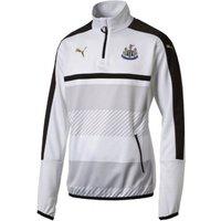 2016-2017 Newcastle Puma Quarter Zip Training Top (White) - Kids