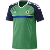 2016-2017 Northern Ireland Home Adidas Football Shirt (Kids)