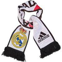 2014-2015 Real Madrid Adidas 3 Stripe Scarf (White)