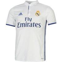 2016-2017 Real Madrid Adidas Home Football Shirt