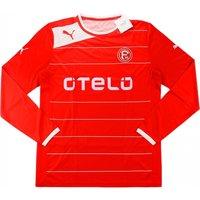 2012-13 Fortuna Dusseldorf Puma Home Long Sleeve Football Shirt