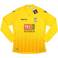 2015-16 Crystal Palace Macron Away Goalkeeper Shirt