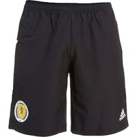 2018-19 Scotland Adidas Woven Shorts (Black)