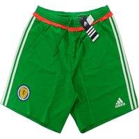 2016-17 Scotland Adidas Authentic Home Goalkeeper Shorts