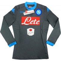 2015-16 Napoli Kappa Authentic Away Long Sleeve Goalkeeper Shirt