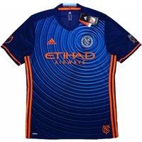 2017 New York City Adidas Away Authentic Football Shirt