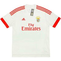 2015-16 Benfica Adidas Away Authentic Football Shirt