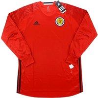2016-17 Scotland Adidas Authentic Third Goalkeeper Shirt