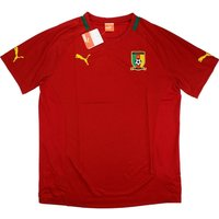 2012-13 Cameroon Puma Training Tee (Red)