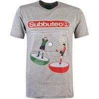 Image of Subbuteo Goal T-Shirt - Grey