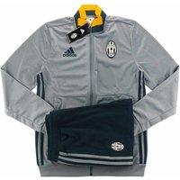 2016-17 Juventus Adidas Presentation Tracksuit (Grey)