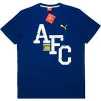 2014-15 Arsenal Puma Fan Tee (Navy)