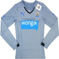 2014-15 Newcastle Puma Authentic ACTV Away Long Sleeve Football Shirt