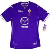 2014 Fiorentina Joma Coppa Italia Final Home Football Shirt