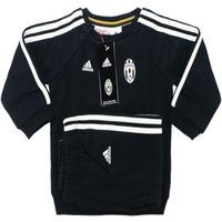 2016-17 Juventus Adidas Baby Jogger Tracksuit (Black)