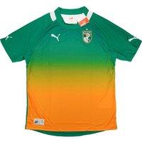 2012-13 Ivory Coast Puma Away Football Shirt